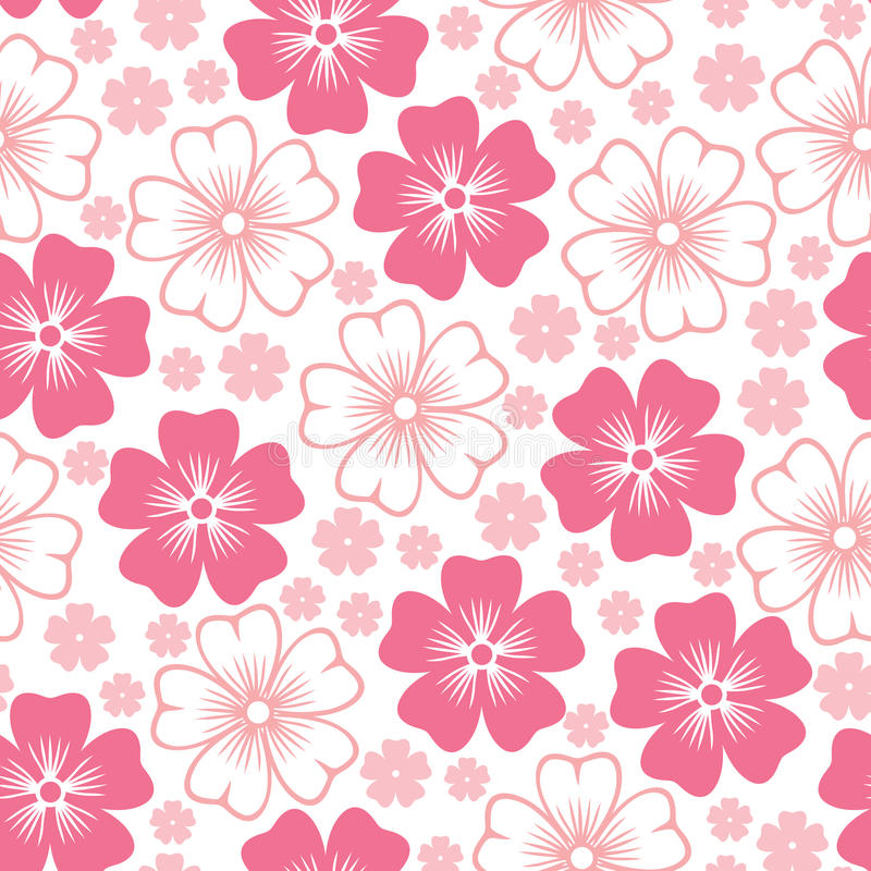 Background flower pink image collections flower decoration ideas pink flower seamless pattern stock vector illustration of flora download pink flower seamless pattern stock vector mightylinksfo