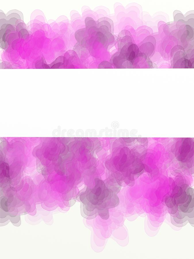 Download Pink flowers stock illustration. Image of banda, imagination - 25075484