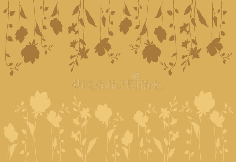 Pink flowers_background_horizontal royalty free stock photography