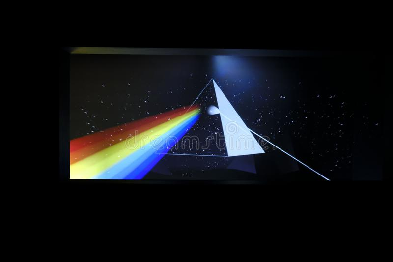 Pink Floyd: Deras dödliga rest royaltyfri fotografi