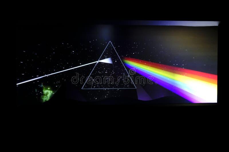 Pink Floyd: Il loro resti mortale fotografie stock