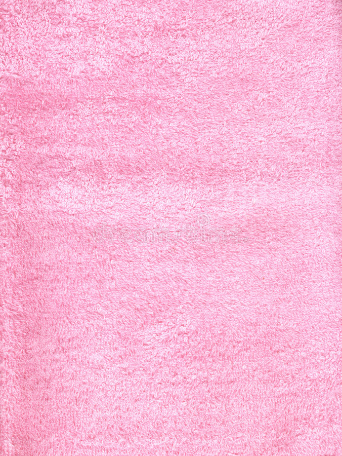 Pink fluffy fabric royalty free stock photography