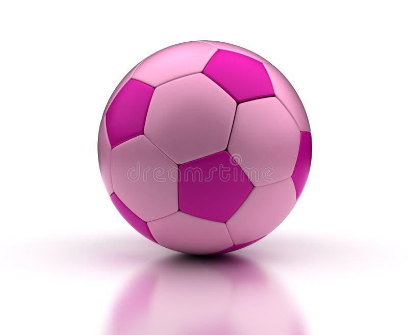 Pink Football stock photography