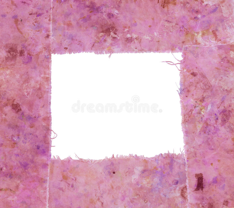 Pink frame royalty free stock photo