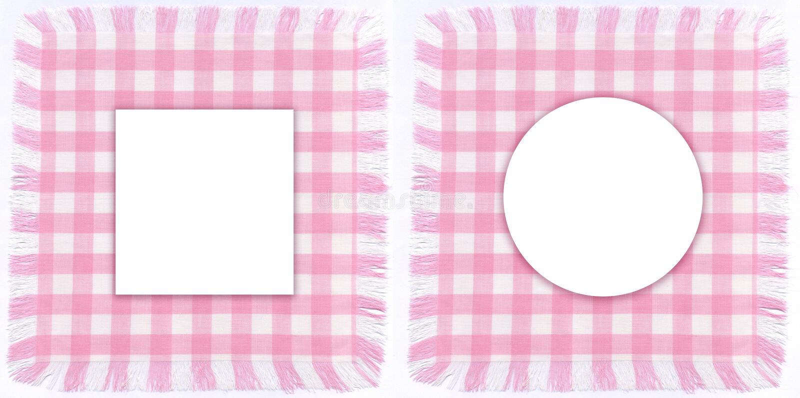 Download Pink frames stock image. Image of cotton, cloth, children - 10518133
