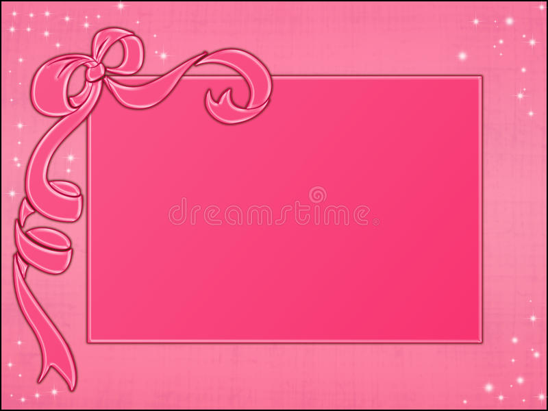 Download Pink Frames Template Royalty Free Stock Image - Image: 12956536