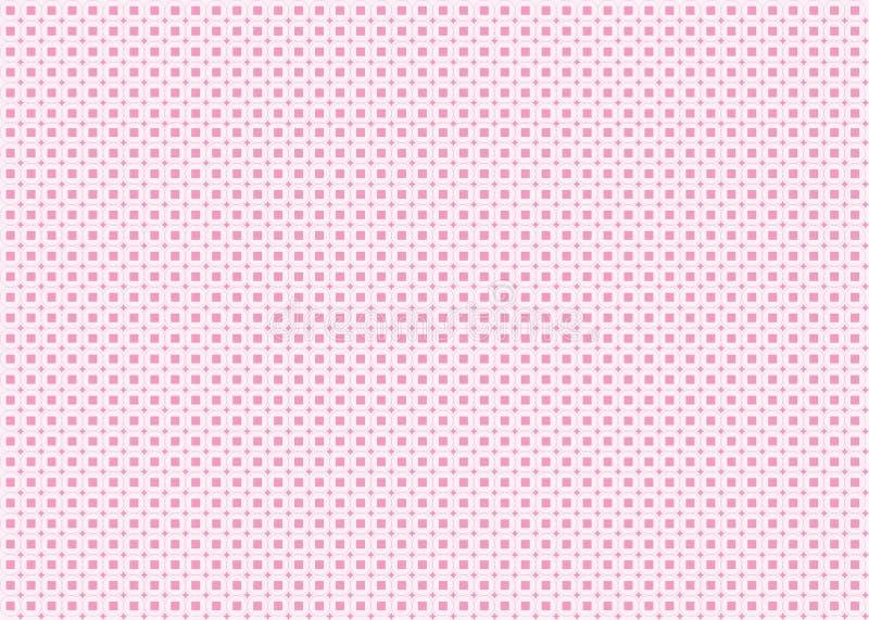 Pink Geometric Background stock illustration