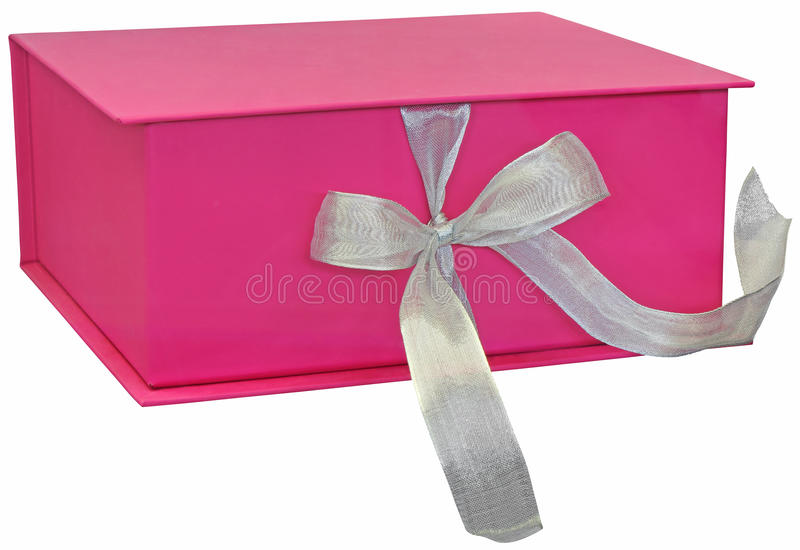 Download Pink gift box stock image. Image of package, beautiful - 31606965
