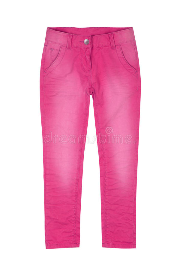 Free Pink Girl Trousers Stock Photos - 36110693
