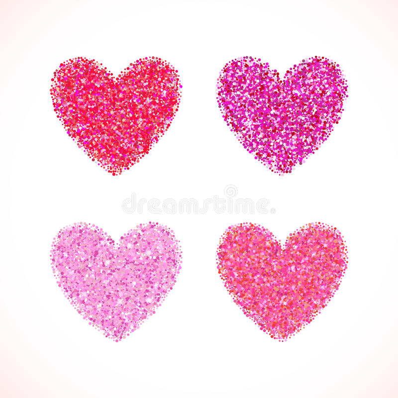 Pink glitter valentine day heart shape vector background for download pink glitter valentine day heart shape vector background for wedding invitation greeting card stopboris Images