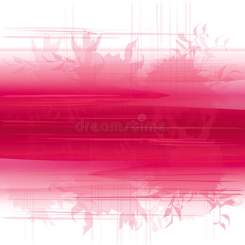 Pink Gradient Background In Watercolor Style. Red And White Tie-dye ...