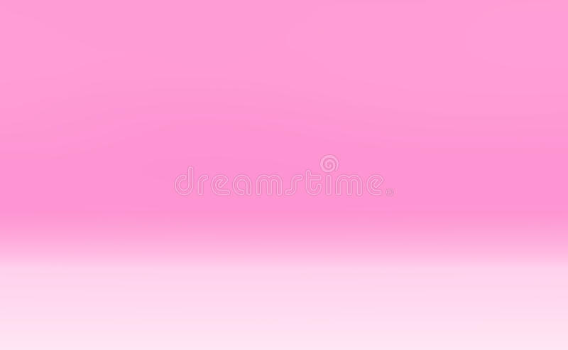 Pink Gradient Light Background Stock Illustration