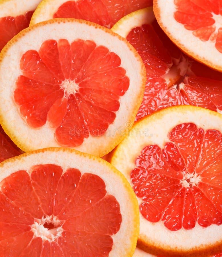 Pink Grapefruit Royalty Free Stock Photos