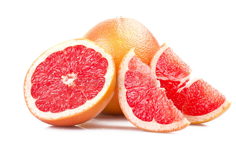 Download Pink grapefruit stock image. Image of portion, closeup - 31367277