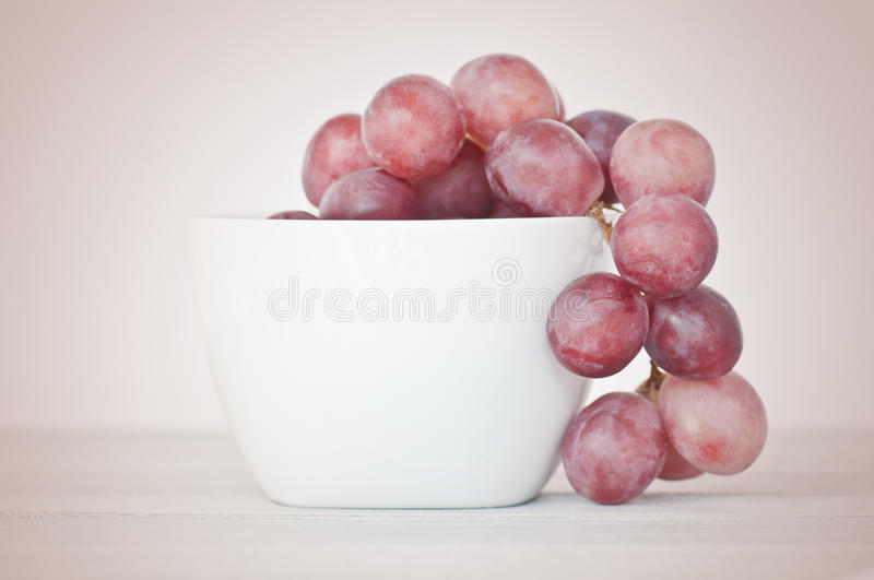 Pink Grapes Stock Photo