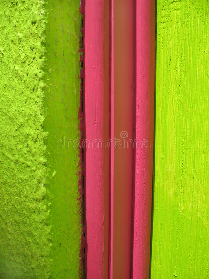 Pink and Green royalty free stock photo