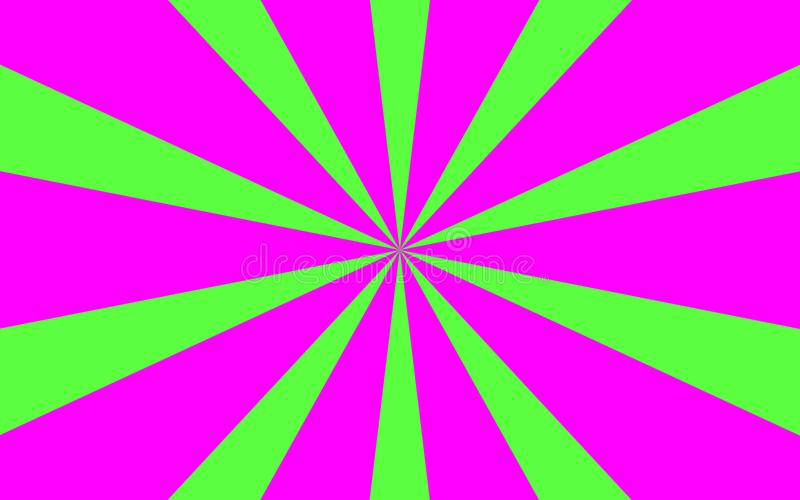 Pink green rays background image royalty free stock photos