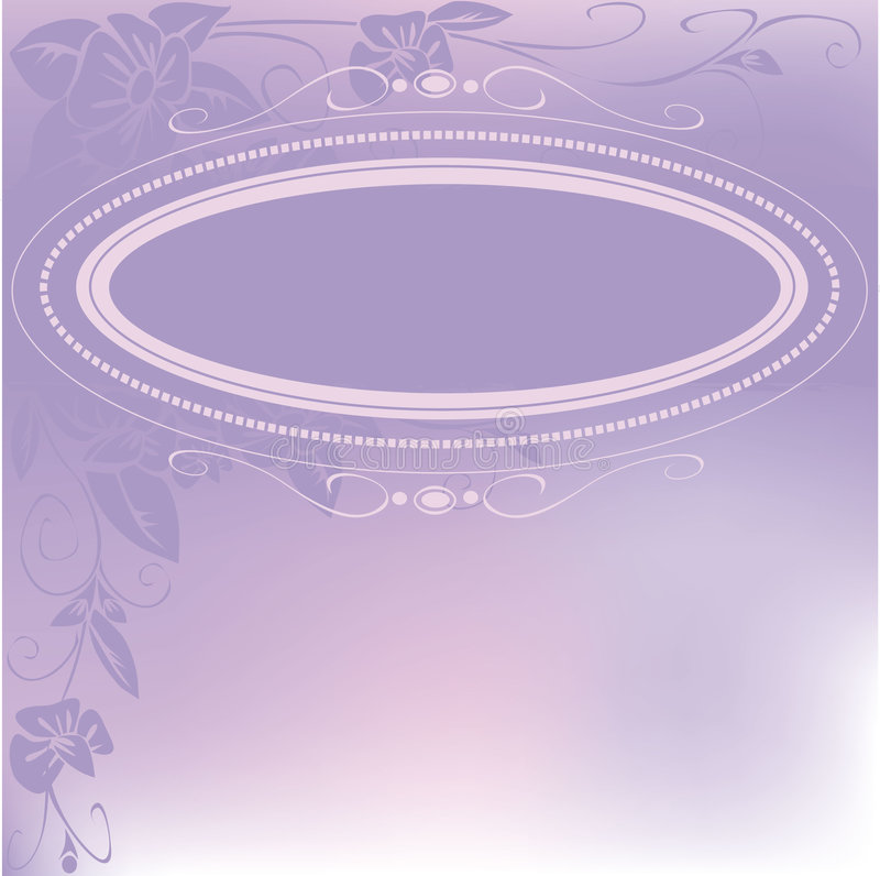 Pink Greeting Card Royalty Free Stock Photography