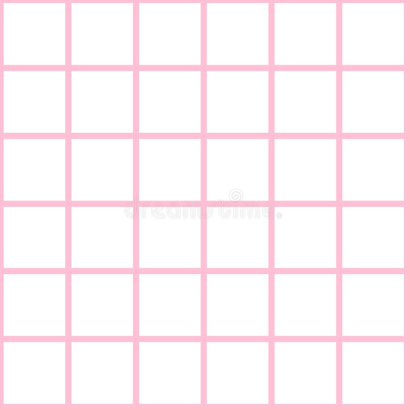 Pink Grid White Chess Board Diamond Background Vector royalty free illustration