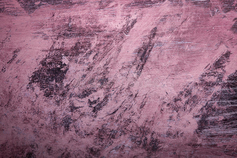 Pink Grunge background with paint brush marks. royalty free stock photos