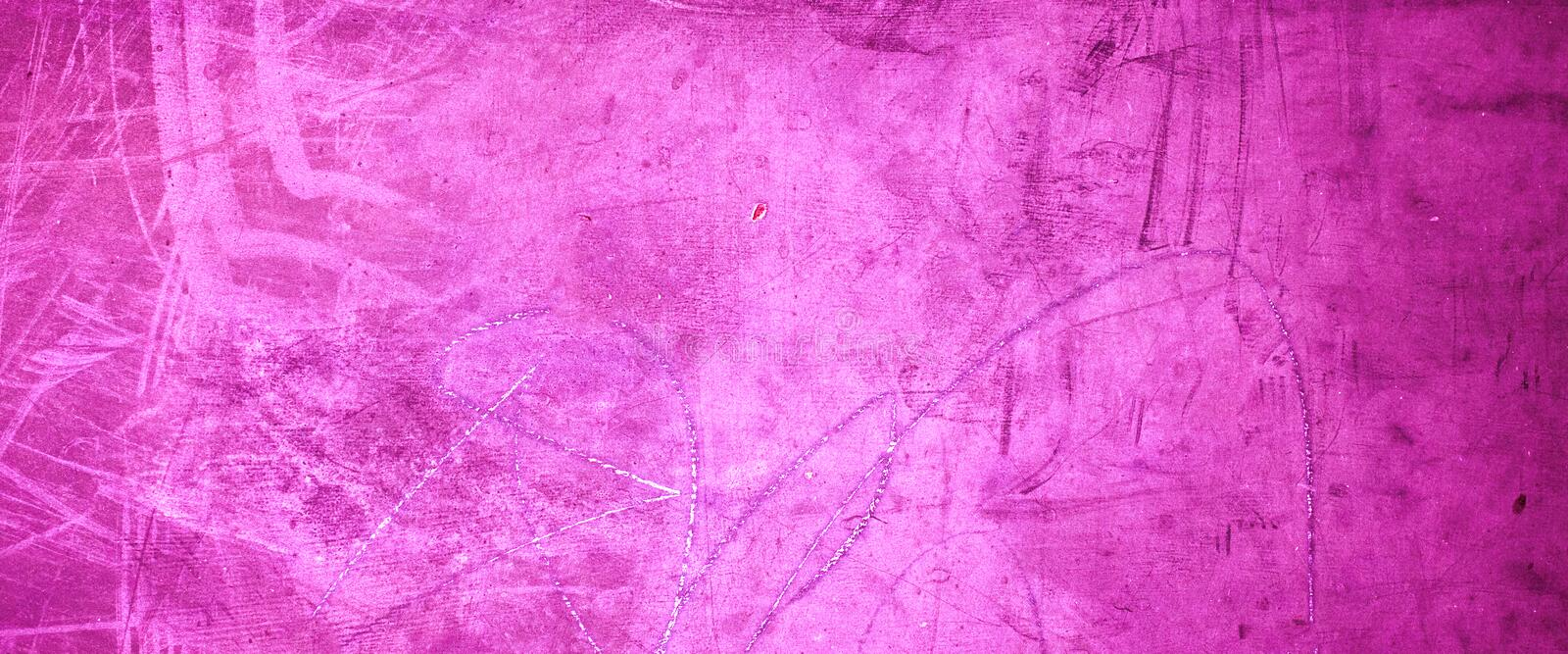 Pink grunge background texture - - Old Grungy purple wall with royalty free stock photo