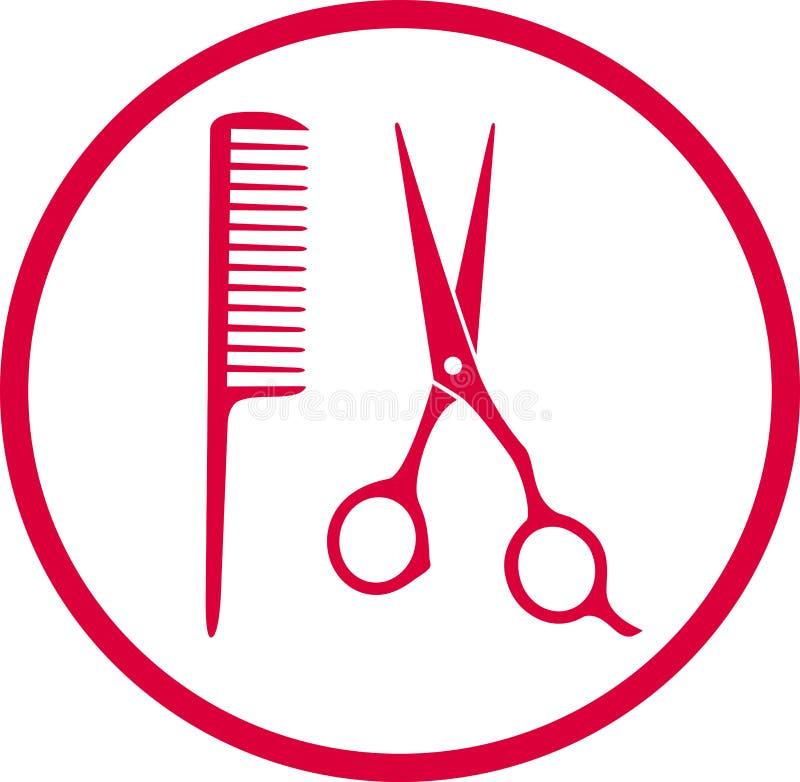 Free Pink Hairdresser Sign Royalty Free Stock Image - 33550636