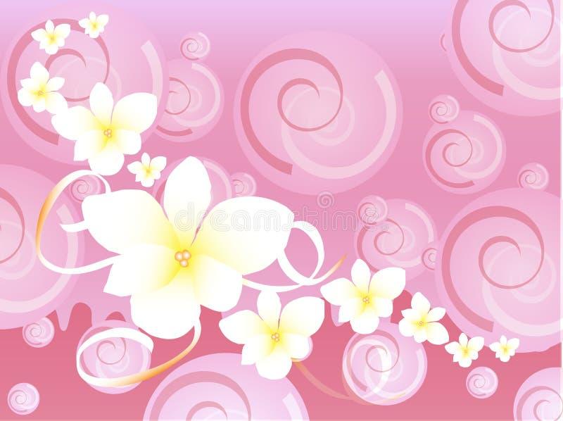 Download Pink Hawaiian Fancy Background Stock Vector