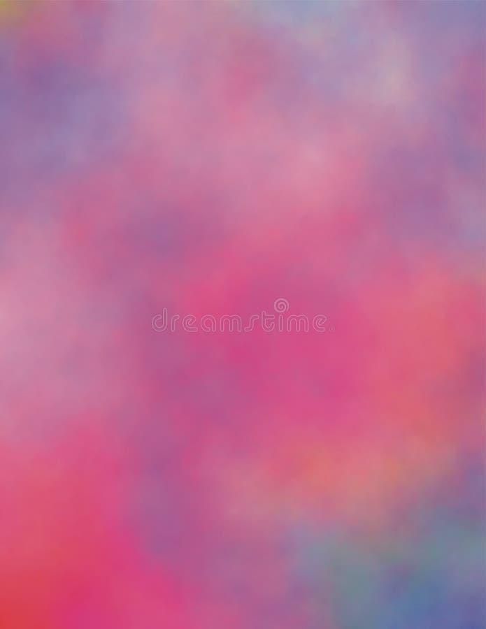 Pink Haze Background. Pink and Blue hazy watercolor background for use in website wallpaper design, presentation, desktop, invitation or brochure backgrounds royalty free illustration