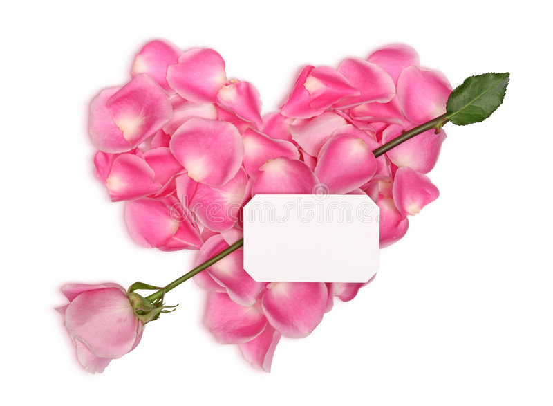 Download Pink heart with arrow stock image. Image of letter, shape - 7457235