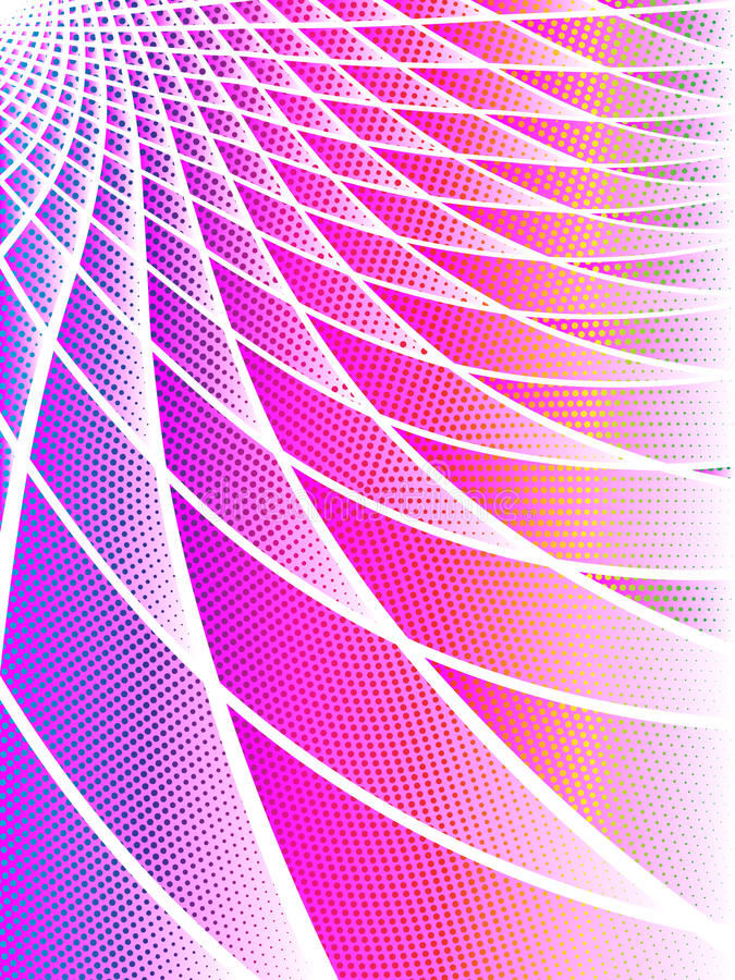 Download Pink And Iridescent Techno Background Stock Vector - Image: 12481960
