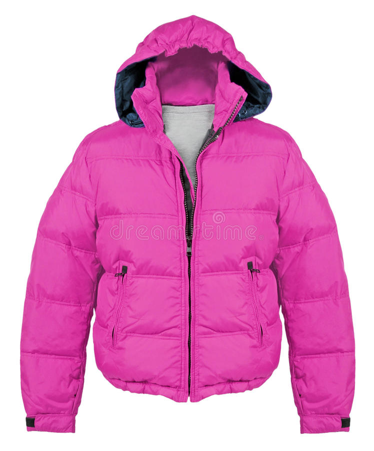 Download Pink jacket stock image. Image of bright, casual, coat - 27363483