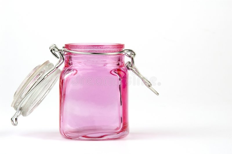 Download Pink jar stock photo. Image of wash, isolation, youthful - 1708650