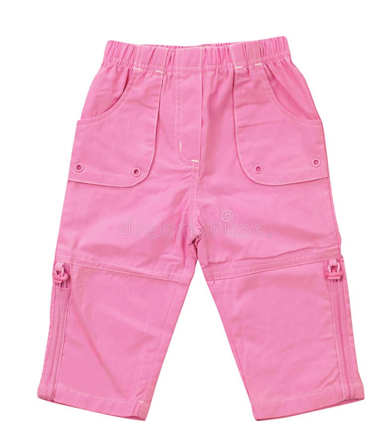 Pink Jeans Stock Images