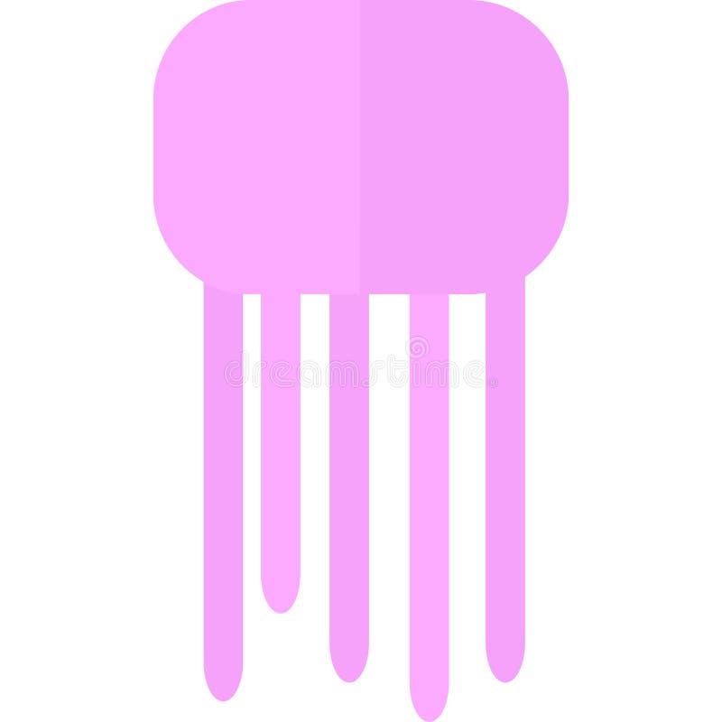 Pink Jelly Fish royalty free illustration