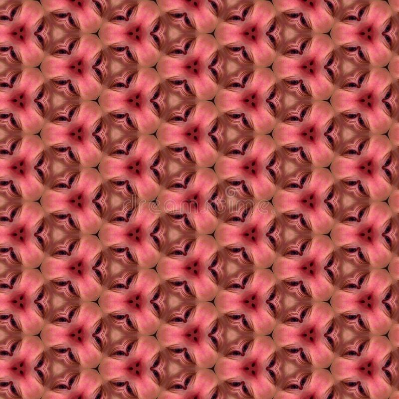 Pink Kaleidoscope Paper Background Pattern stock images