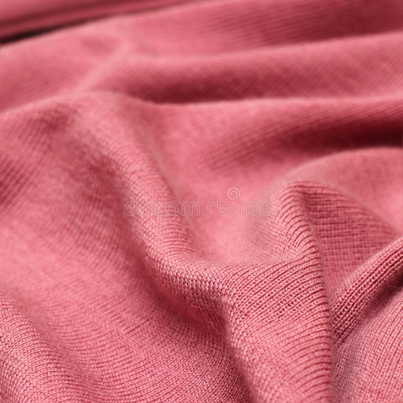 Pink knitwear texture royalty free stock images