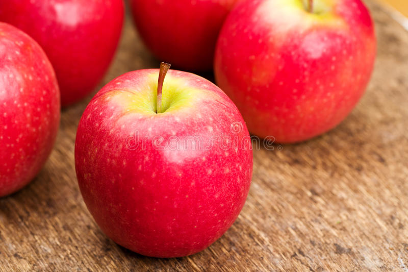 Pink Lady apples royalty free stock image
