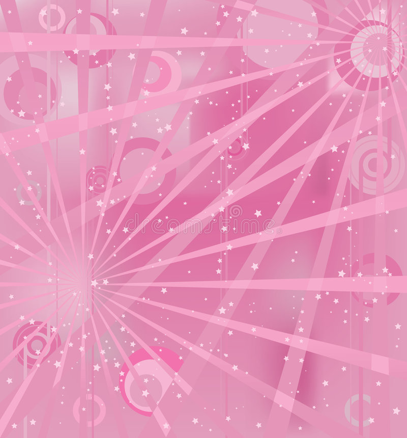 Download Pink light stock vector. Image of wallpaper, abstract - 6351542