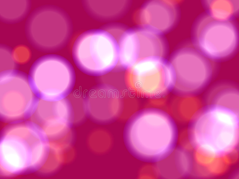 Pink Lights Royalty Free Stock Photo