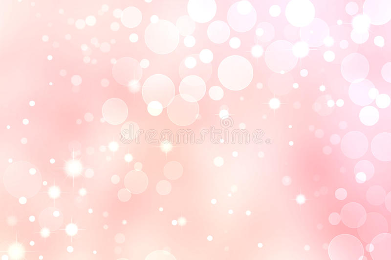 Pink Lights Abstract stock illustration
