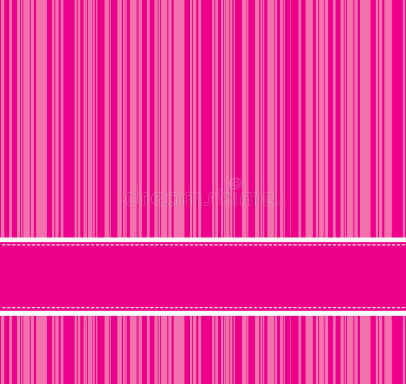 Pink line background royalty free illustration