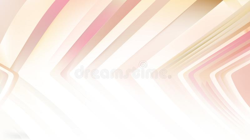 Pink Line Orange Background Beautiful elegant Illustration graphic art design Background. Image stock illustration