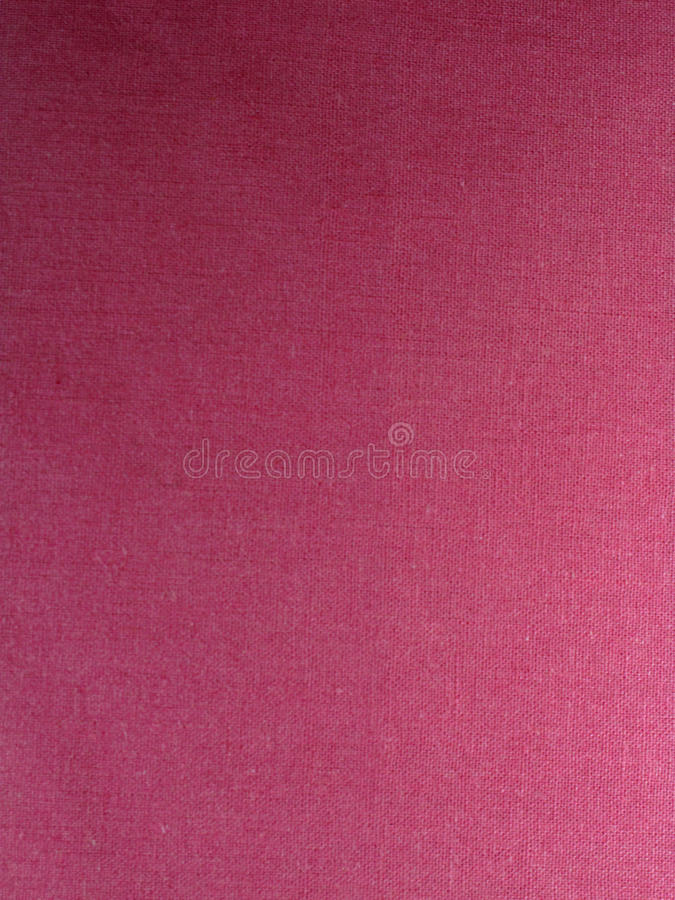 Pink linen fabric royalty free stock image