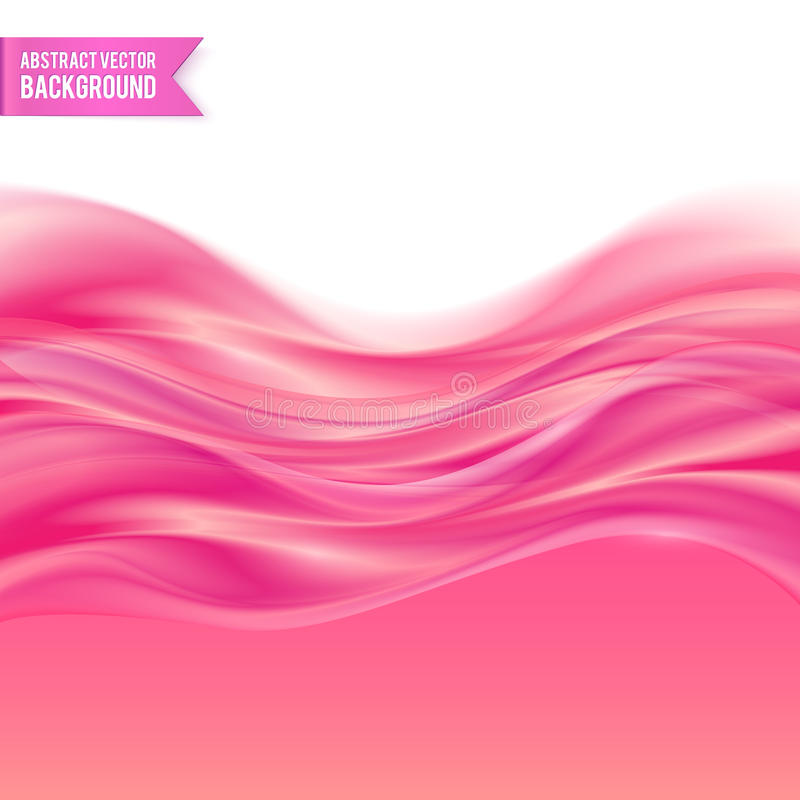Pink liquid jelly abstract vector background royalty free illustration
