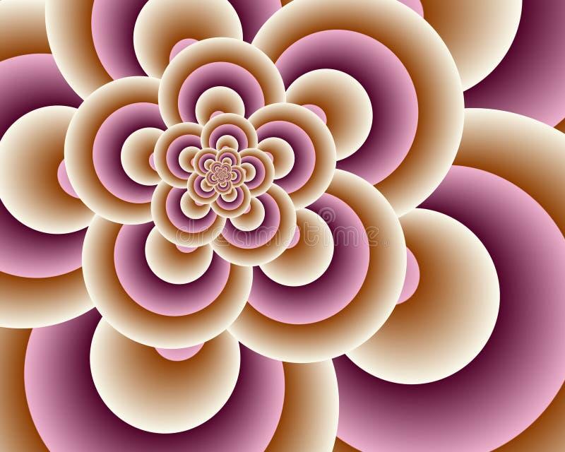 Download Pink Loops stock illustration. Image of color, digital - 3162450
