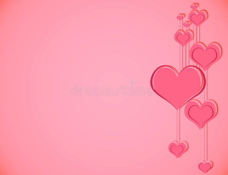 pink love background stock illustration illustration of drawing