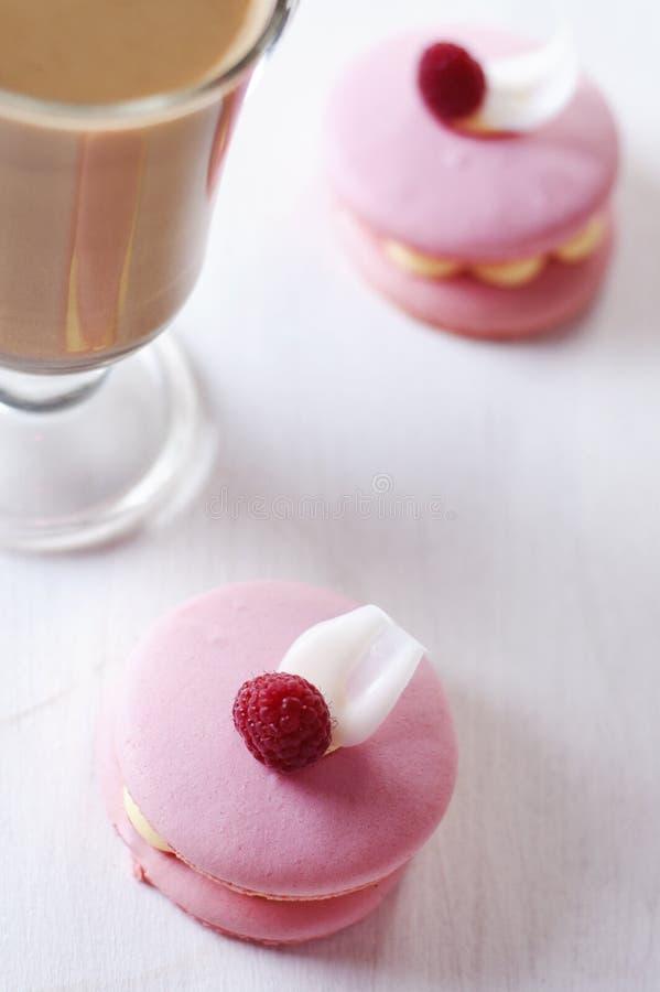 Download Pink macaron stock image. Image of raspberry, nobody - 26943603