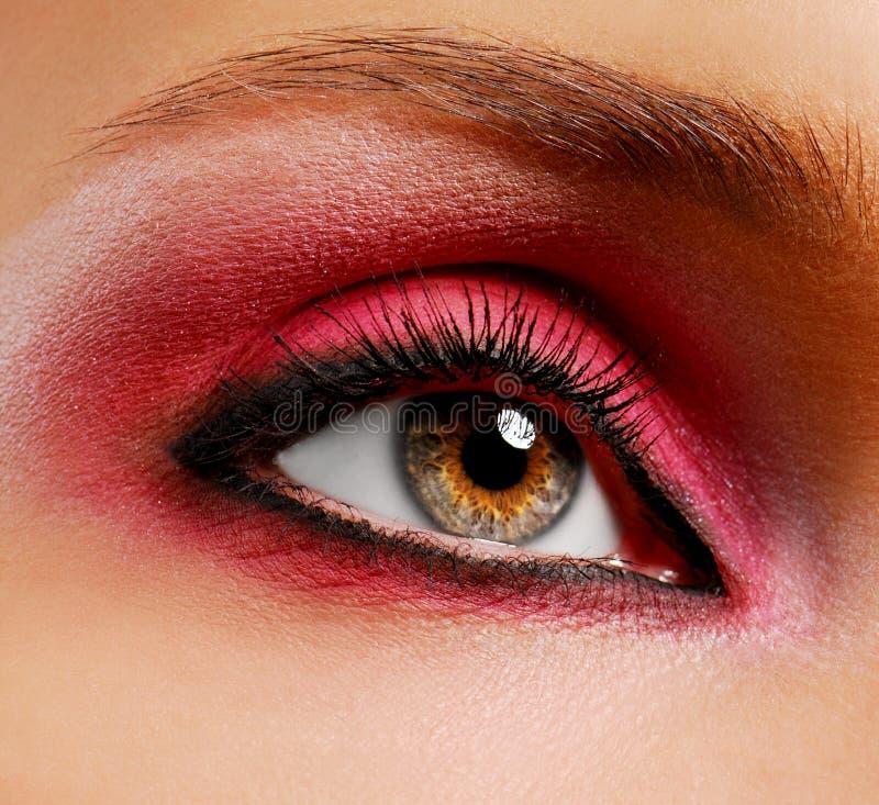 Pink make-up royalty free stock images