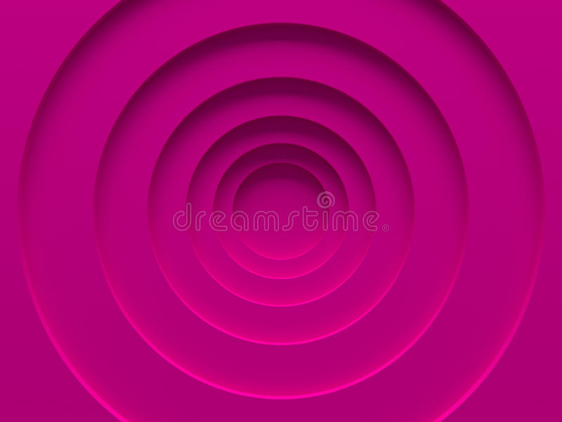 Pink material rings. Female background. stock illustration