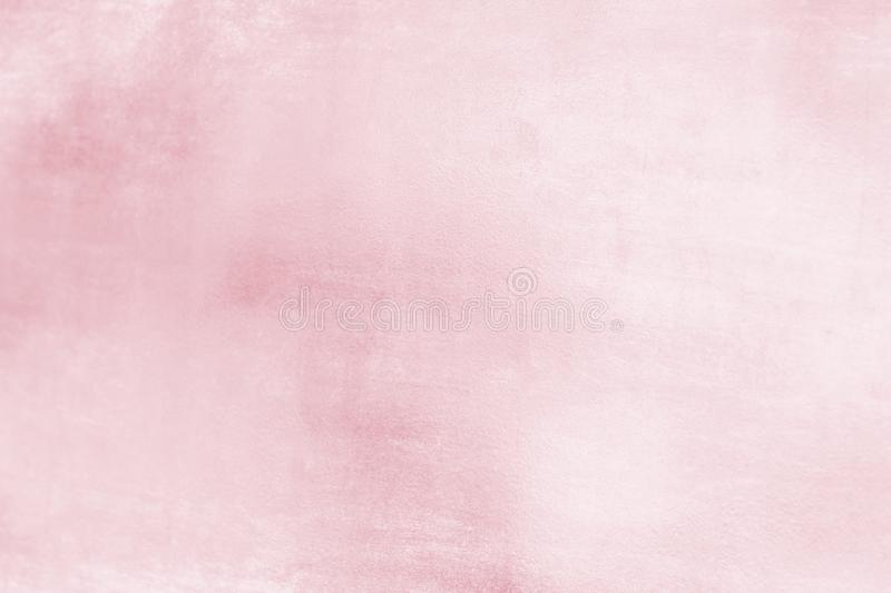 Pink metal background or texture and gradients shadow, rose gold color.  royalty free stock images
